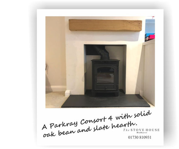 Parkray Consort 4 Supplied & Fitted by The Stove House 01730 810931