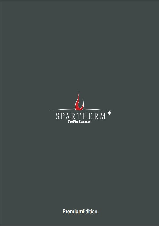 spartherm premium addition brochure of stoves fires and firesplaces modern designs and efficient heating at The Stove House