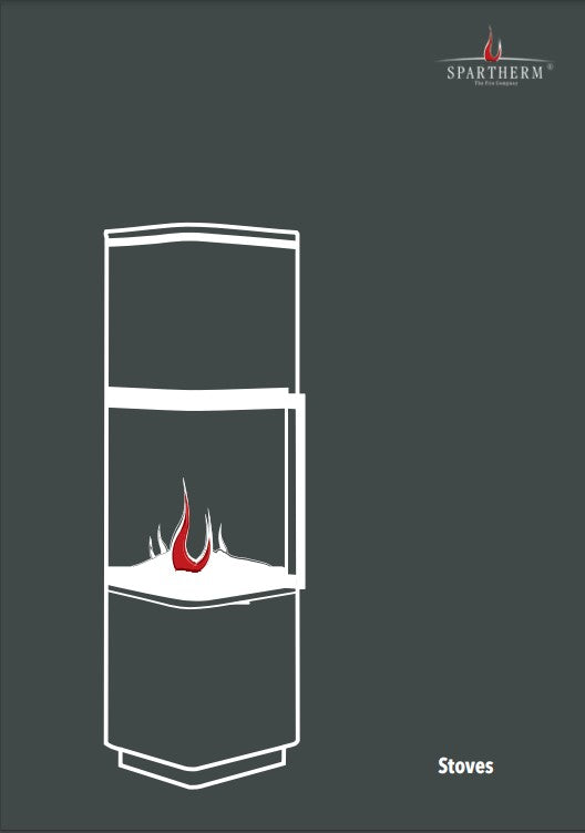 spartherm stoves brochure with fires and firesplaces modern designs and efficient heating at The Stove House