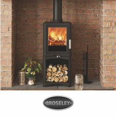 Broseley Multi Fuel gas and electric models at The Stove House in Midhurst nr Petersfield Chichester Haslemere Pulborough Petworth fitting installation & surveys in West Sussex Surrey & Hampshire
