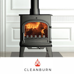 Cleanburn stoves such as the Lovenholm Norreskoven Sonderskoven Skagen 5 & 6 Stromstrad Sju & Atta fires at The Stove House in Midhurst nr Petersfield Chichester Haslemere Pulborough Petworth fitting installation & surveys in West Sussex Surrey & Hampshire