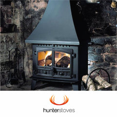 Hunter Stoves such as the Herald 6 8 14, Inglenook Telford Kestrel Hawk 3 & 4 Compact Slimline Boiler and double sided fires at The Stove House in Midhurst nr Petersfield Chichester Haslemere Pulborough Petworth fitting installation & surveys in West Sussex Surrey & Hampshire