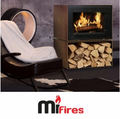 Mi Fires stoves and fireplaces from The Stove House your local woodburner showroom in West Sussex 01730 810931