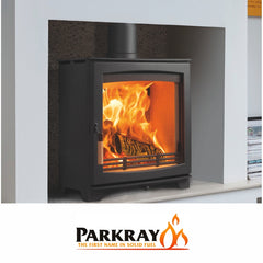 Parkray stoves such as the Aspect 4 5 6 7 8 9 14 80B consort slimline double sided derwent chevin and boiler models at The Stove House in Midhurst nr Petersfield Chichester Haslemere Pulborough Petworth fitting installation & surveys in West Sussex Surrey & Hampshire