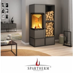 Spartherm: stoves fires inserts fireplaces and outdoor fires at The Stove House 01730 810931