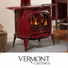 Vermont Casting Stoves such as the Intrepid Encore Defiant and Aspect models at The Stove House in Midhurst nr Petersfield Chichester Haslemere Pulborough Petworth fitting installation & surveys in West Sussex Surrey & Hampshire