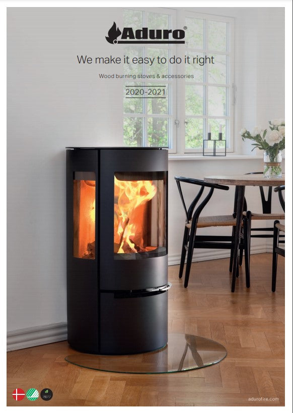 Aduro stoves at The Stove House in West Sussex