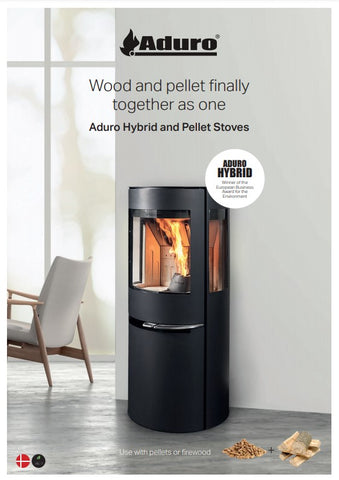 Aduro stoves brochure at The Stove House in West Sussex