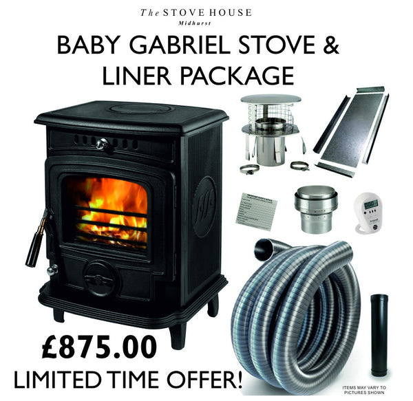Baby Gabriel + Liner Package - The Stove House Midhurst Nr Chichester West Sussex