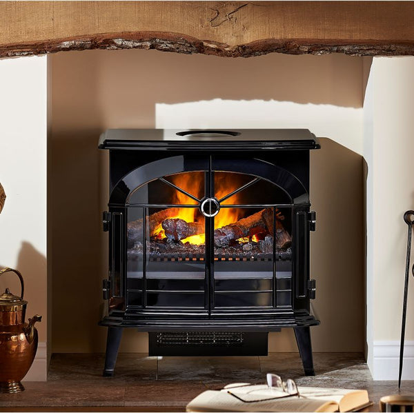 Dimplex Burgate Opti Myst Electric Stove - The Stove House Midhurst Nr Chichester West Sussex