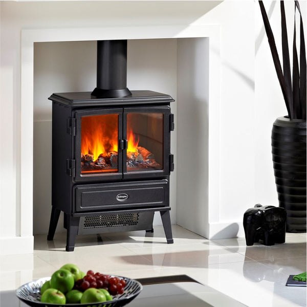 Dimplex Oakhurst Opti Myst Electric Stove - The Stove House Midhurst Nr Chichester West Sussex