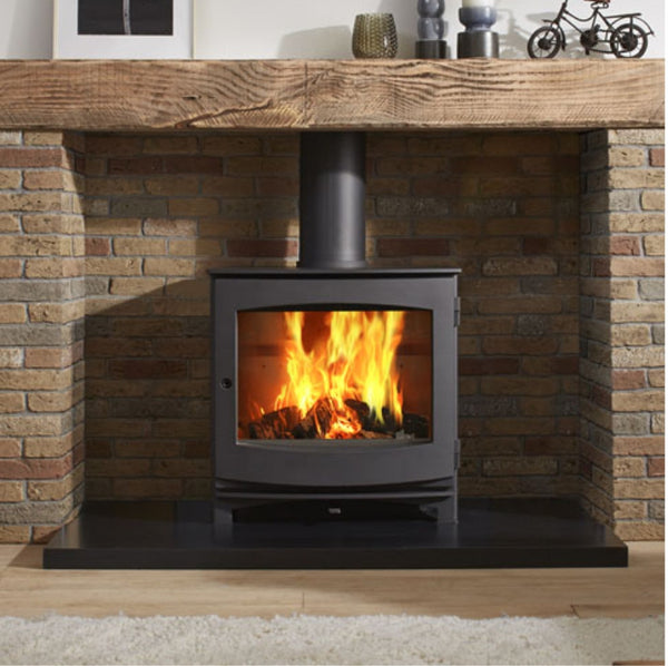 Dik Geurts Ivar 8 Low Stove - The Stove House Midhurst Nr Chichester West Sussex
