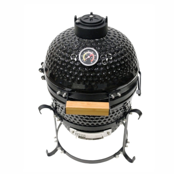 "Mi-Fire 13"" Black Kamado Grill all in one BBQ - The Stove House Midhurst Nr Chichester West Sussex"