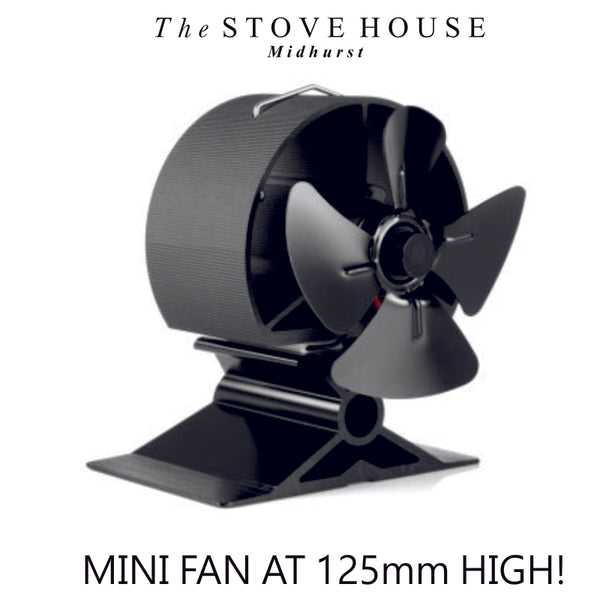 4 Blade Mini Heat Powered Stove Fan - The Stove House