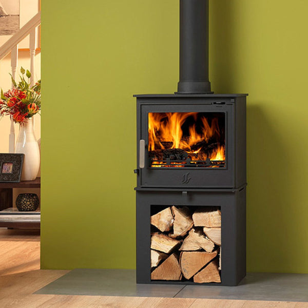 ACR Malvern II LS (Log Store) Stove - The Stove House Midhurst Nr Chichester West Sussex