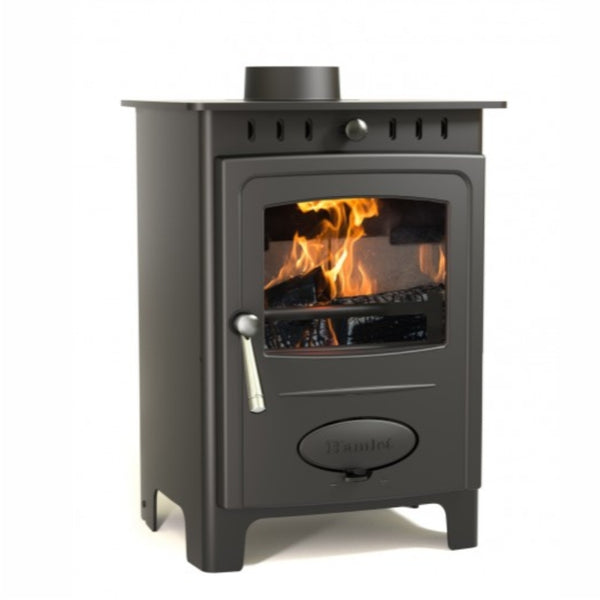 Small Modern Budget Stove - The Stove House Midhurst Nr Chichester West Sussex