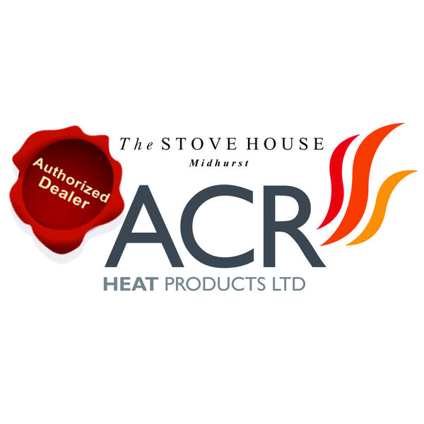 ACR Malvern Log Store Electric Stove - The Stove House Midhurst Nr Chichester West Sussex
