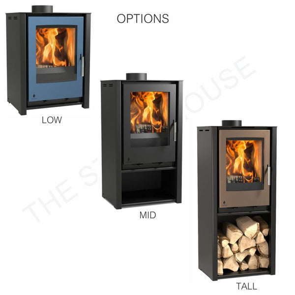 Arada i400 Freestanding Low Stove - The Stove House Midhurst Nr Chichester West Sussex