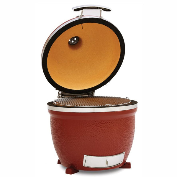 "Kamado Big Joe 24"" Stand Alone Outdoor Ceramic Grill & Smoker - The Stove House Midhurst Nr Chichester West Sussex"