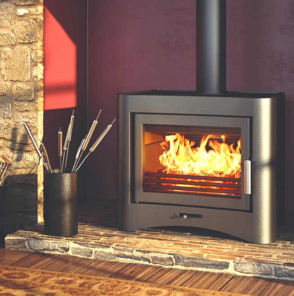 Broseley Evolution 26 Woodburning Boiler Stove - The Stove House Midhurst Nr Chichester West Sussex