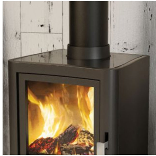 Broseley Evolution 5 Multifuel Stove With Log Store - The Stove House Midhurst Nr Chichester West Sussex