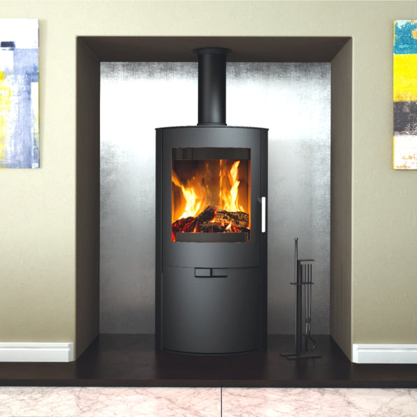 Flair 8 Modern Woodburning Stove - The Stove House Midhurst Nr Chichester West Sussex