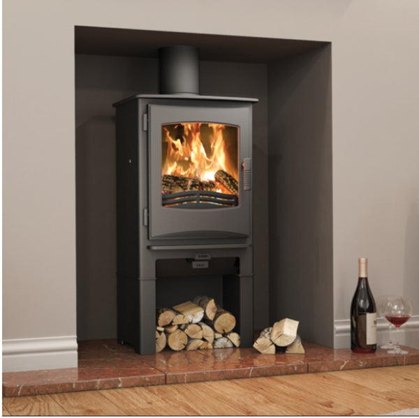 Broseley Ignite 5 With Log Store - The Stove House Midhurst Nr Chichester West Sussex