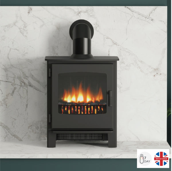 Broseley Evolution Desire 6 Electric Stove - The Stove House Midhurst Nr Chichester West Sussex