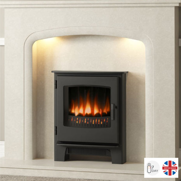 Broseley Evolution Desire Inset Electric Stove - The Stove House Midhurst Nr Chichester West Sussex