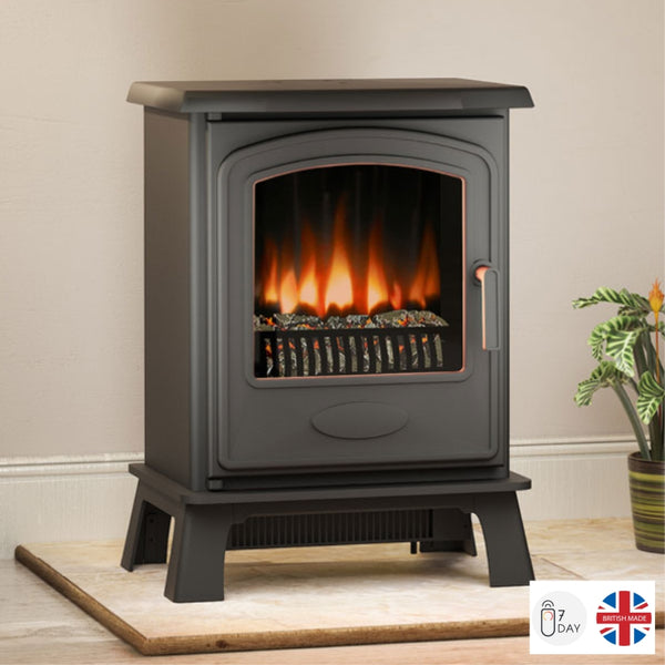 Broseley Hereford 5 Electric Stove - The Stove House Midhurst Nr Chichester West Sussex