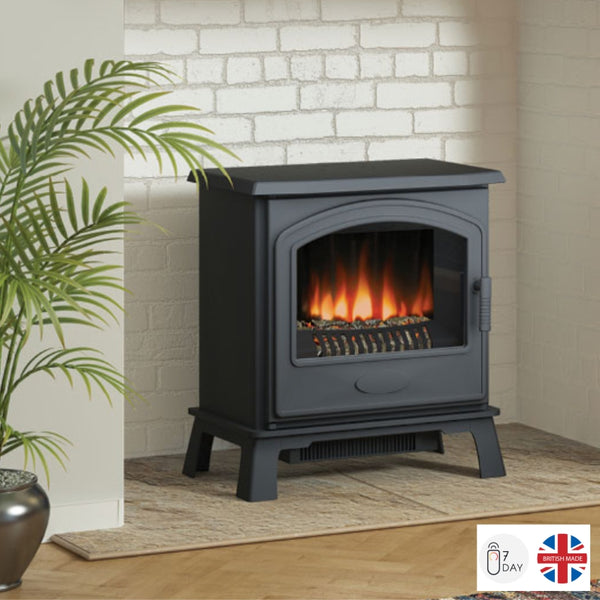 Broseley Hereford 7 Electric Stove - The Stove House Midhurst Nr Chichester West Sussex