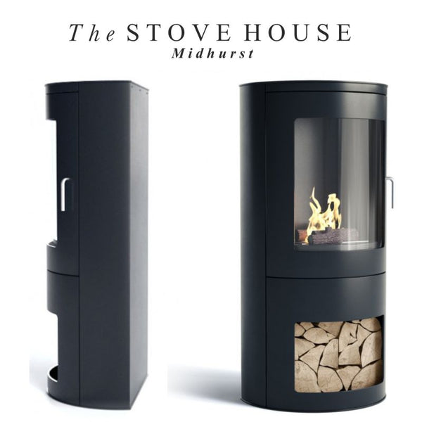 Burford Bioethanol Modern Stove / No Flue - The Stove House Midhurst Nr Chichester West Sussex