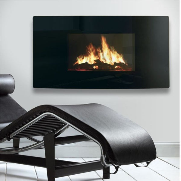 Celsi Electric Puraflame Curved - The Stove House