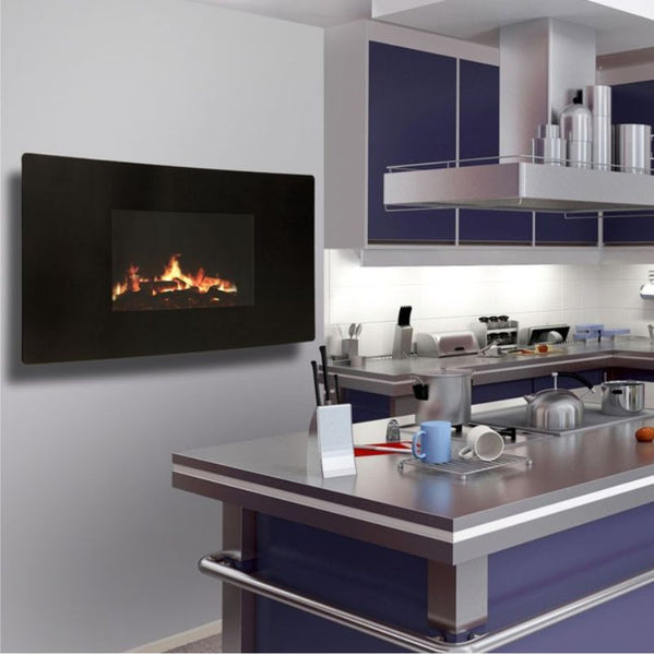 Celsi Electric Puraflame Curved - The Stove House Midhurst Nr Chichester West Sussex