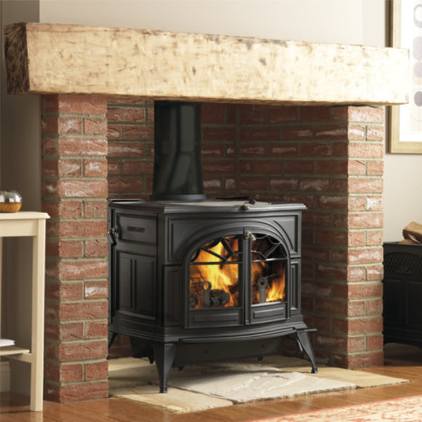 Vermont Castings Defiant 2 in 1 Woodburner Stove - The Stove House Midhurst Nr Chichester West Sussex