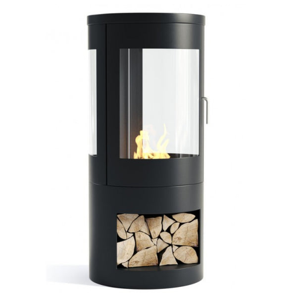 Howarth Bioethanol Black Modern Stove / No Flue - The Stove House
