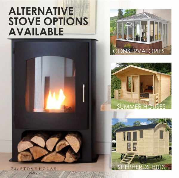 Pembrey Bioethanol Stove from The Stove House 01730 810931 www.thestovehouseltd.co.uk