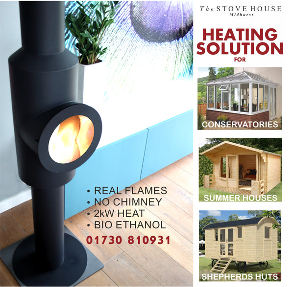 EXTRA £20 OFF OFFER - Bioethanol Eco Stove /  Fire  - Requires No Flue