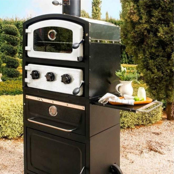 Fornetto Alto Outdoor Wood Fired Pizza Oven & Smoker - The Stove House Midhurst Nr Chichester West Sussex