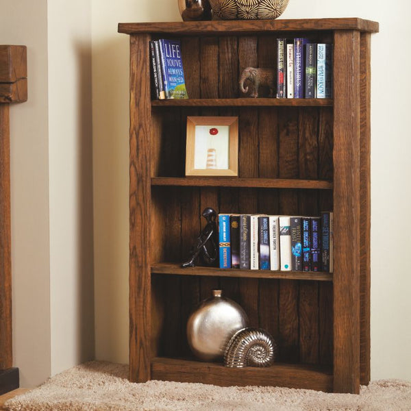 Bespoke Oak Bookcase - The Stove House