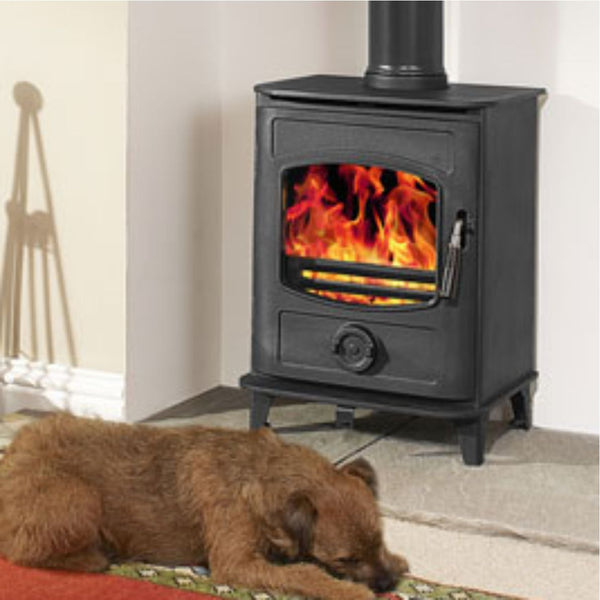 High Flame Graphite 5 - The Stove House Midhurst Nr Chichester West Sussex
