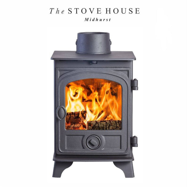 Hunter Hawk 3 Stove - The Stove House Midhurst Nr Chichester West Sussex