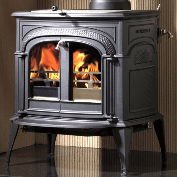Vermont Castings Intrepid II Woodburner Stove - The Stove House Midhurst Nr Chichester West Sussex