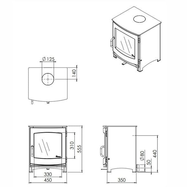 dik geurts ivar 5 low also high  u0026 log store option available  u2013 the stove house