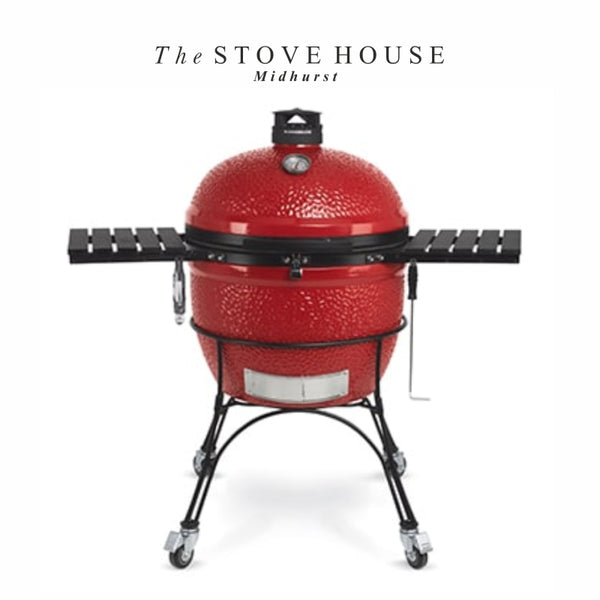 "NEW Model Kamado Big Joe 24"" Outdoor Ceramic Grill & Smoker - The Stove House Midhurst Nr Chichester West Sussex"