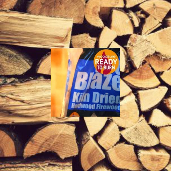 EcoBlaze™ Kiln Dried 20L Bagged Firewood - Free Local Delivery - The Stove House Midhurst Nr Chichester West Sussex
