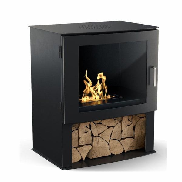 Ledbury Bioethanol Modern Stove / No Flue - The Stove House Midhurst Nr Chichester West Sussex