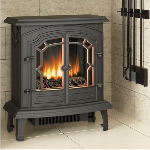 Broseley Lincoln Electric Stove - The Stove House Midhurst Nr Chichester West Sussex