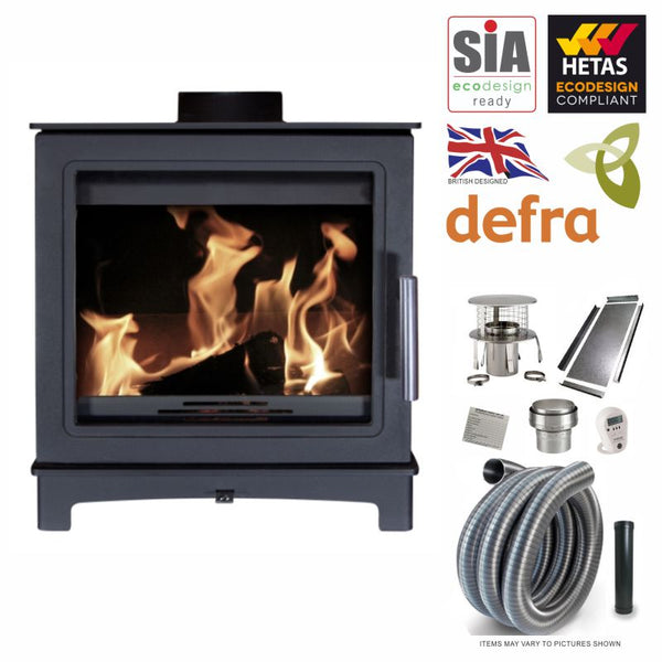 LIMITED OFFER Mi Fires Loughrigg 5kW Eco Design Ready Defra & Hetas Approved Woodburner & Liner Package at The Stove House, Midhurst, your local stove fitter & shop situated between Chichester & Haslemere. Servicing West Sussex, Hampshire & Surrey for over 30 yrs For survey installation quote & prices 01730 810931