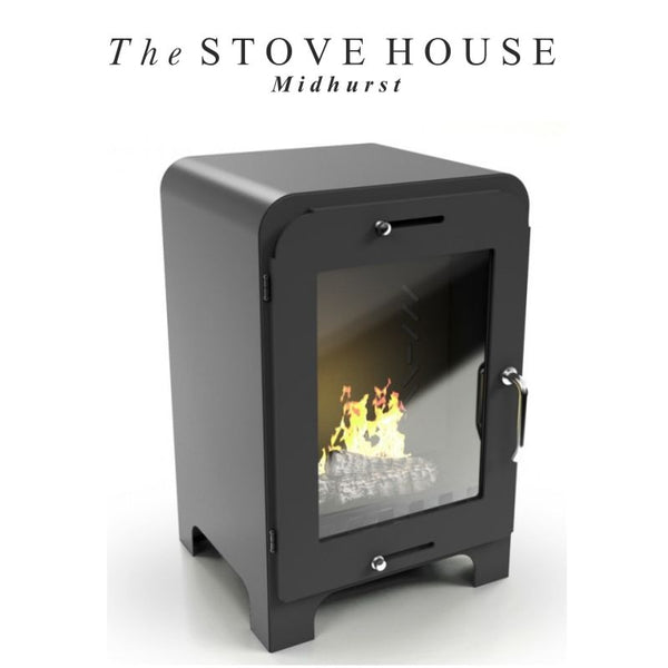 Moritz Bioethanol Small Modern Stove - No Flue Required - The Stove House Midhurst Nr Chichester West Sussex